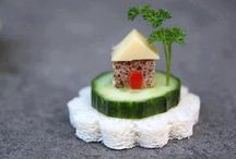 food decorating garnishes / by Ruth Benner