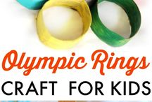 Olympics Crafts For Kids / Are you looking for a great way to teach your child about Olympics?  Check out our list of 100+ Olympic crafts, recipes and activities just for kids!