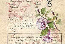 botanic labels