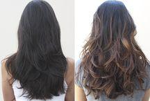Cor de cabelo morenas