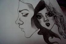 Mine / Drafts, drawing