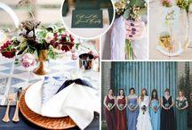 Matrimonio d'autunno / Fall wedding / Ispirazioni per il matrimonio autunnale/ Inspirations for a fall wedding