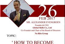 Alexander Evengroen Million Dollar Success Coach Events