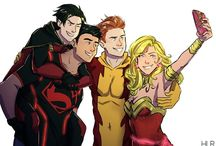 Bat & Super & Wonder & Flash