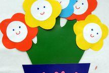 SPRING Kids crafts / Spring idies for kids