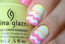 Springtime manicures / Nail art with a Springtime theme!