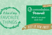 My Cotton Babies Holiday Gift Registry / My Cotton Babies Holiday Gift Registry - a wish list for the Cotton Babies elves!