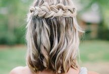 Bridal hair- medium