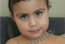 Ananda Campos Ferreira. / Brasileira. Nascida em 2014.