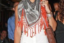 Scarf Celebrity / Women's Scarves that just make you look good!