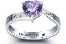 Personalized & Custom Rings / Personalized and custom rings for someone special