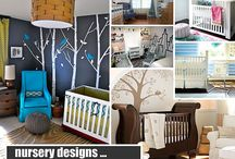 Nursery Ideas & Baby Room Decorating Ideas / Design inspiration to decorate a nursery or a baby room