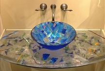 Fused Glass Inspiration / I am a fused glass artist and these are pieces created by other artists that inspire me.