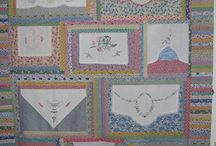 Old linens quilts