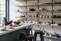 Industrial-ish Kitchen Inspo