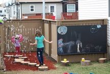 kids outdoor spaces / by Michelle Norris