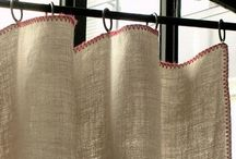curtains / linen