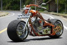 Motorcycle Madness / A collection of choppers and others that I'd love to own for one reason or another / by Sean Curtis