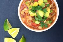 SOUPS / Comforting recipes that range in flavors but can all be enjoyed in a bowl.