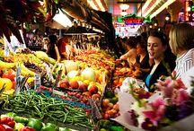 zöldség, gyümölcs piac