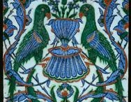 Iznik Patterns / Beautiful Iznik patterns. Inspiring patterns for decorating and making stencils.