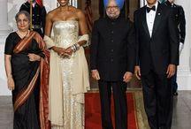 Michela Obama looks