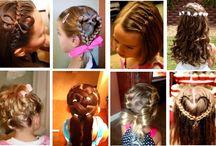 DIY little girls hair styles