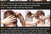 Simple DIY hair looks