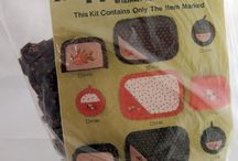 Sewing Kits / Kits for making dolls, toys, home decor, and other fun crafts.