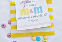 Teacher Appreciation / by Aimee Stryker-Marando