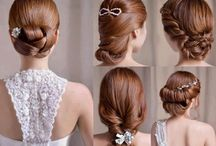Leanne wedding hair