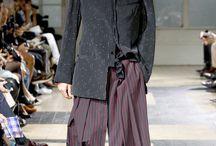 yoji yamamoto men couture