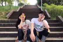 parejas asiáticas
