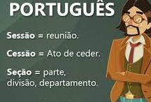 português sessão, seção...