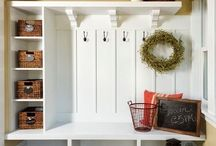 New Mudroom / The first room in the house! / by Cathy Stott