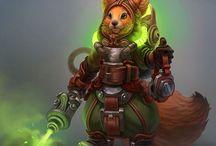 RPG Inspiration Squirrel Folk