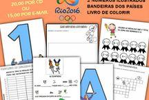 OLIMPÍADAS 2016 / PARA ADQUIRIR: https://sites.google.com/…/diariodaprof…/kit-olimpiadas-2016