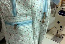 mochila patchwork