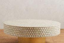 Coffee Table + Armchair