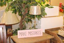 Carteles de madera / Carteles decorativos de madera de pino, acabado vintage y con frases que no pueden faltar en tu día a día.