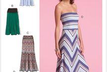 Holiday dress sewing patterns & fabrics