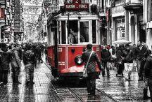 Tramvay ve Klasikler / İstiklal Cadde ve Beyoğlu'nun klasikleşmiş fotoğrafları