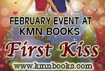 First Kiss / Authors are sharing the magic of their hero and heroine's first kiss! And what's a party without prizes? Every day you'll have a chance to win books, Amazon or Barnes and Noble gift cards, Starbucks gift cards, or other wonderful goodies. Enjoy!