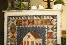 folk art quilt pattern