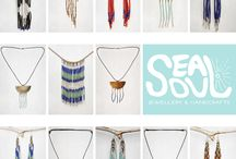 SEALSOUL jewelry / SEALSOUL bead jewelry - handmade bead earrings and other handcrafted creations - inspired by life - made with LOVE by Artist Sarah Irina Skrutl.