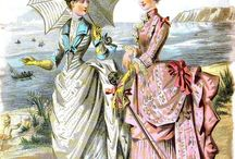 Fashion plates 1880s