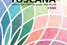 Fabric - TOSCANA / By Deborah Edwards Northcott Studio