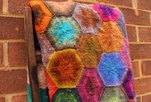 tæpper / strikede og hæklede tæpper