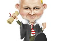 ArkAngelMichael's caricatures / Caricatures