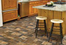 Kitchen bath mudroom flooring